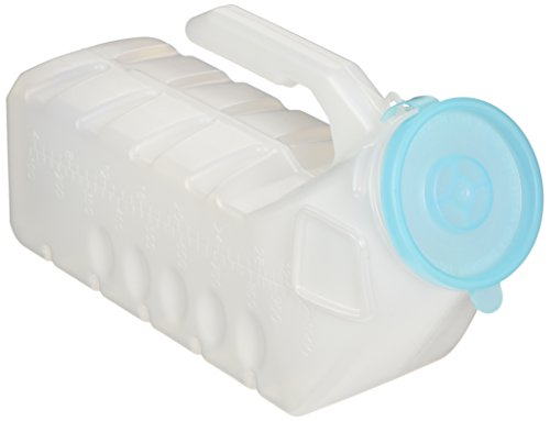 2 Pc 32 Ounce Deluxe Male Urinal Glow