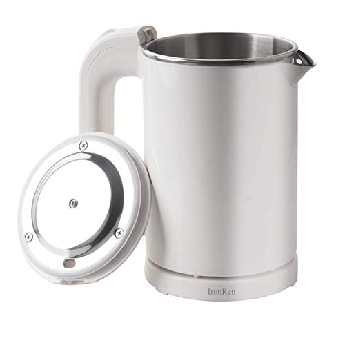 IronRen 0.5L Portable Electric Kettle, Mini Travel Kettle