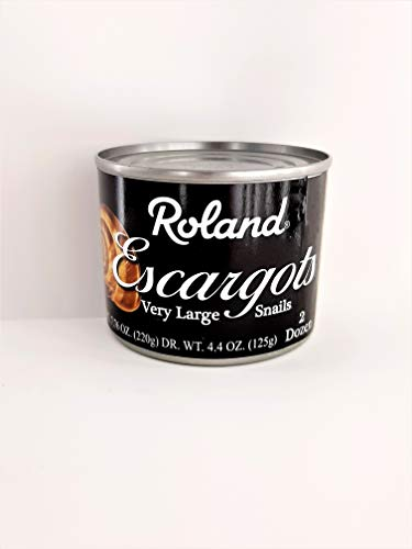 Roland Very Large Escargot Snails