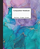 Composition Notebook: Wide Ruled Paper...