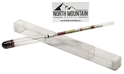 North Mountain Supply - NMSTS-H Glass Triple Scale Hydrometer