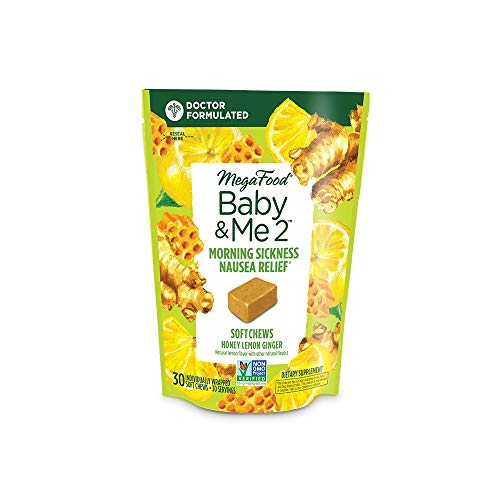 MegaFood, Baby & Me 2 Morning Sickness Nausea Relief Soft Chews