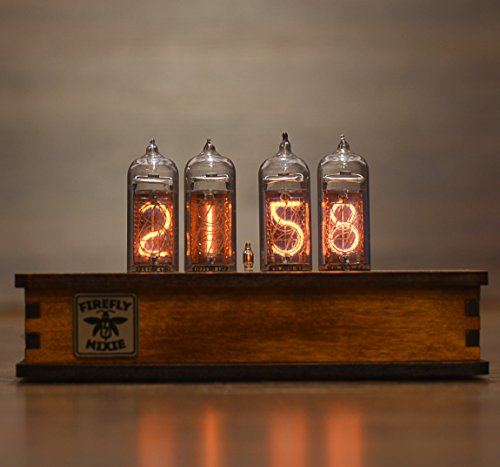 Nixie Tube Clock with New and Easy Replaceable