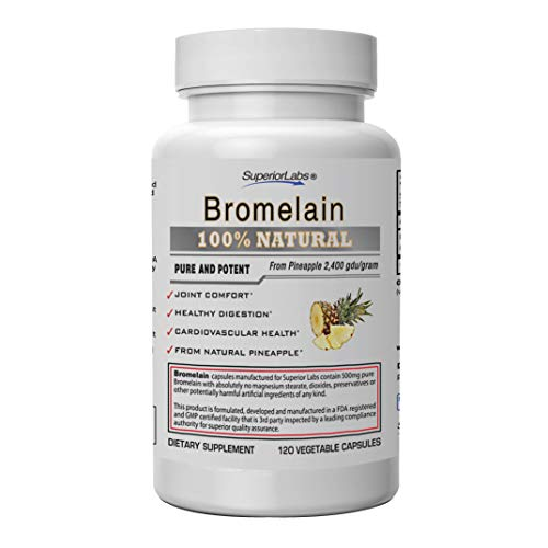 Superior Labs – Best Bromelain Non GMO Natural Supplement