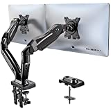 HUANUO Dual Monitor Stand - Adjustable...