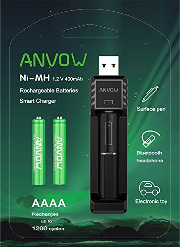 ANVOW Smart AAAA Battery Charger
