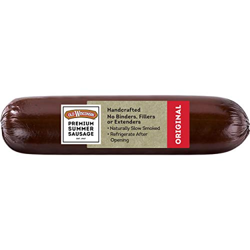 Old Wisconsin Premium Summer Sausage, 100% Natural Meat