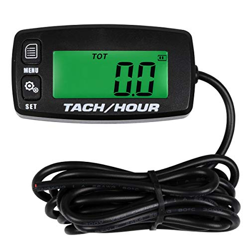 Small Engine Tachometer Hour Meter