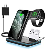 WAITIEE Wireless Charger 3 in 1, 15W...