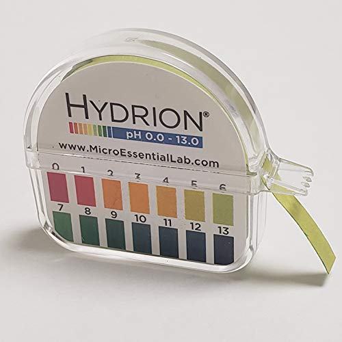Hydrion Ph Paper (93) with Dispenser and Color Chart