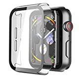 Misxi 2 Pack Hard PC Case with Tempered...