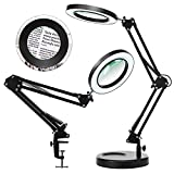 Magnifying Glass with Light and Stand,...