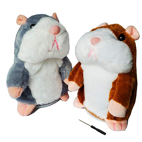 2 Pack Talking Hamster Toy