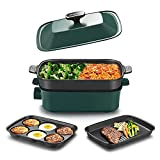 AEWHALE Electric Grill 4 IN 1 Indoor...