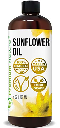 Sunflower Oil Cold Pressed - Sunflower Seed Oil