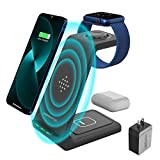 3 in 1 Wireless Charging Station for...