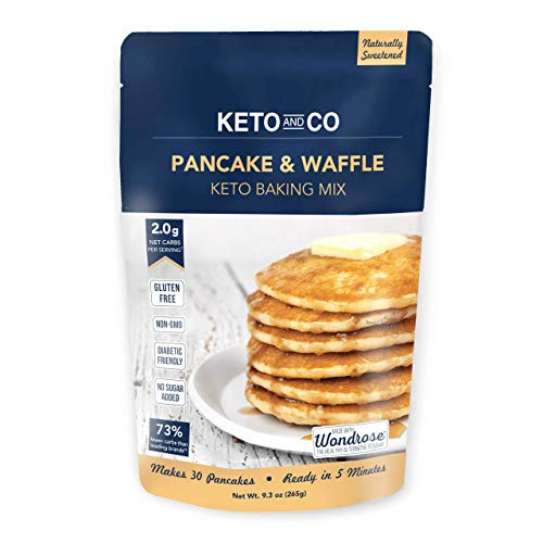 Keto Pancake & Waffle Mix by Keto and Co