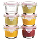 Superior Glass Food Storage Containers -...