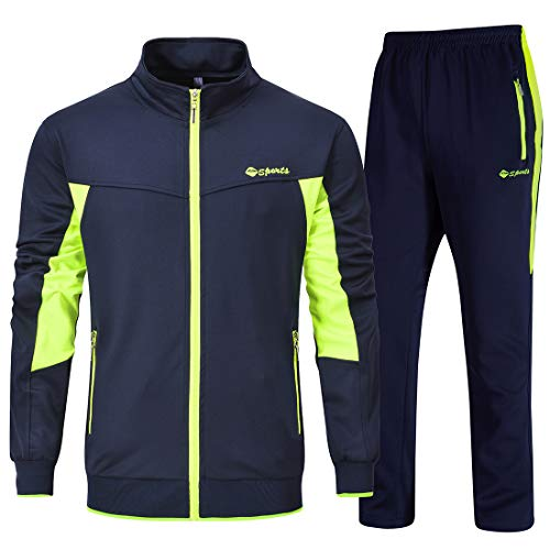 YSENTO Men's Track Suits Sports
