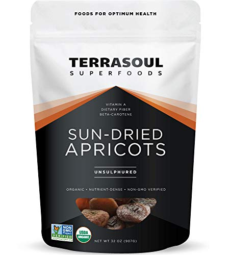 Terrasoul Superfoods Sun-Dried Apricots Unsulphured