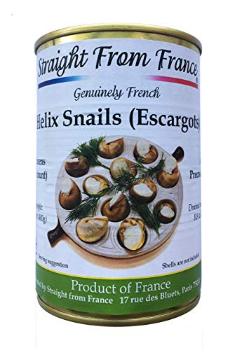 Straight from France French Lu corum Canned Escargots Snails