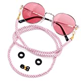 Kalevel Eyeglass Chains for Women Pink...