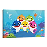 Baby S-hark Canvas Art Poster and Wall...