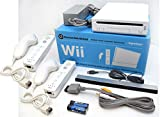 Nintendo Wii Video Game System with TWO...