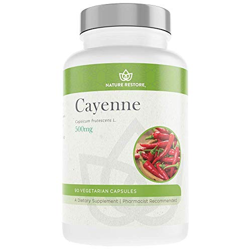 Cayenne Pepper Extract Supplement