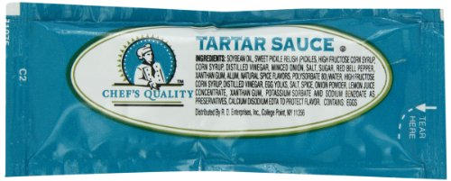 Chef's Quality Tartar Sauce, 200 Count