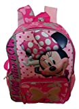 Girl Minnie Mouse 15' Backpack (Red)