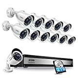 ZOSI H.265+ 1080p 16 Channel Security...
