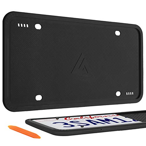Aujen Silicone License Plate Frames
