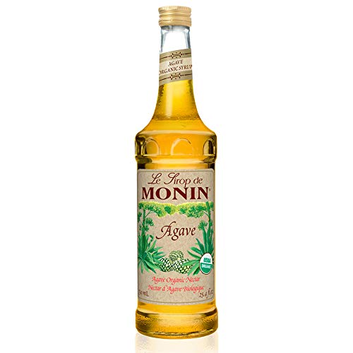 Monin - Organic Agave Syrup, Sweet and Full Flavor, Great for Any Beverage