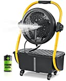 Geek Aire Battery Operated Misting Fan,...