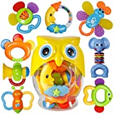 Baby Rattle Sets Teether Rattles Toys,...