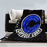 JUST FUNKY Capsule Corp Blanket from...