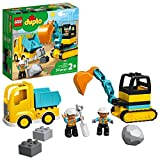 LEGO DUPLO Construction Truck & Tracked...