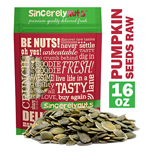 Sincerely Nuts - Raw Shelled Pepitas Pumpkin Seeds