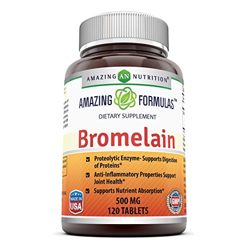 Amazing Nutrition Bromelain Proteolytic Digestive Enzymes Supplements
