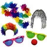Funny Party Hats Clown Accessory Kit...