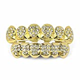 TOPGRILLZ 18K Gold Plated Custom Fit...