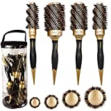 Aozzy Round Brush Set for Blow Drying,...