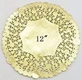 PEPPERLONELY 12 Inch Gold Round...