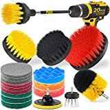 Holikme 20Piece Drill Brush Attachments...