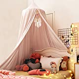 Kertnic Decor Canopy for Kids Bed, Soft...