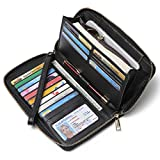 Women Wallet Large Capacity Leather...