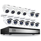 ZOSI 1080p 16 Channel Security Camera...