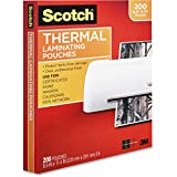 Scotch Thermal Laminating Pouches,...
