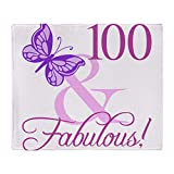 CafePress Fabulous 100Th Birthday for...